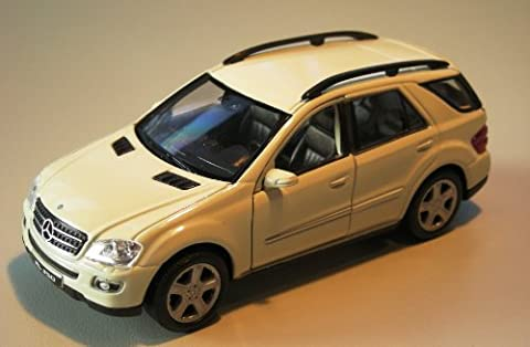 Mercedes Benz ML 350 beige Modellauto Welly 75297 [Spielzeug]
