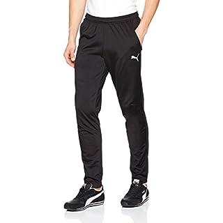 Puma 655770 Pantalon de Jogging Homme, Noir Black White), FR : L (Taille Fabricant : L)