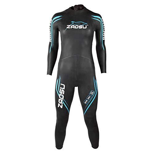 ZAOSU Damen Neoprenanzug Racing 2.0   Flexibler Openwater Triathlon Wetsuit fürs Freiwasser Schwimmen und Wettkämpfe, Größe:WM