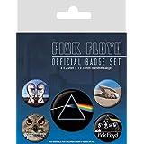 AMBROSIANA Spilla Pink Floyd, Multicolore, 10 x 12.5 x 1.3 cm