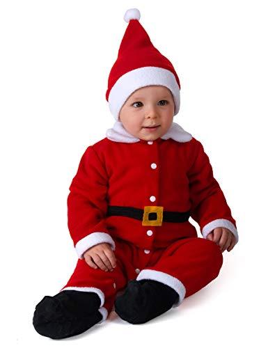 Generique - Weihnachtsmann-Kostüm für Babys 68/80 (6-12 Monate)