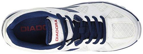 Diadora Hawk 5, Scarpe da Ginnastica Unisex Adulto Multicolore (C2433 Bianco/Blu)