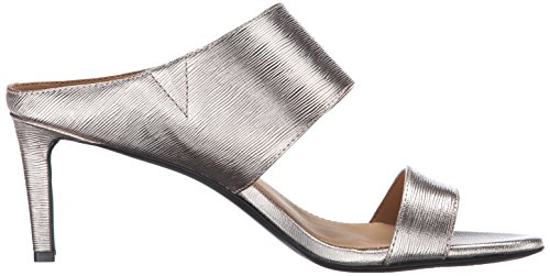 Calvin Klein Cecily Kleid Sandale Soft Platinum