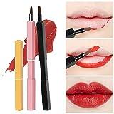 3pcsLippenpinsel-Set, Einziehbare Segbeauty-Make-up-Pinsel für Lippenkonturen...