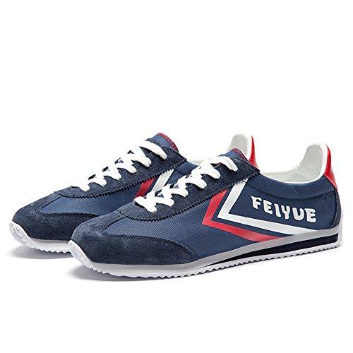 dafufeiyue Scarpe da Arti Marziali Uomo Blue shoes