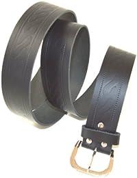 Echt Leder Gürtel 3 cm Breit bis zu einer Länge von 165 cm