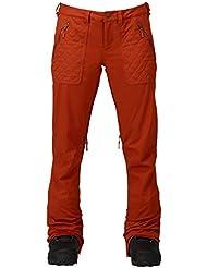 Burton Pantalón de snowboard vida Pant, otoño/invierno, mujer, color Picante, tamaño M