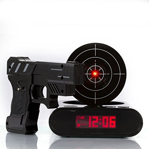 Stoga-GVC001-Latest-Fashion-Digital-Alarm-Clock-Lock-N-load-Gun-Alarm-Clock-Laser-Target-Gaming-Clock