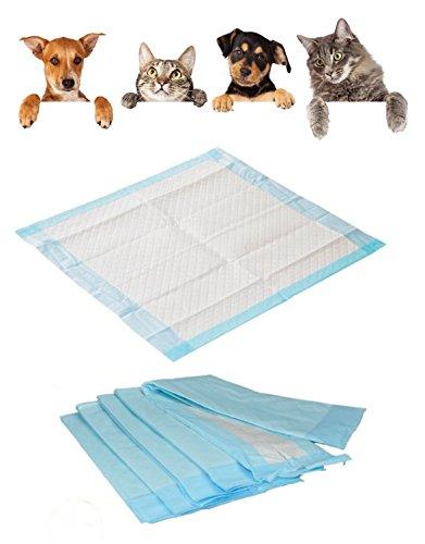 100 Krankenunterlagen Einmalunterlagen Farbe: blau 40 x 60 6 – lagig / Inkontinenzmatten für Hunde - 9