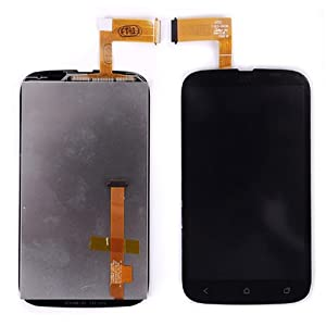 For HTC Desire V T328W Black LCD Display Touch Screen Digitizer Assembly Replacement Repair Part