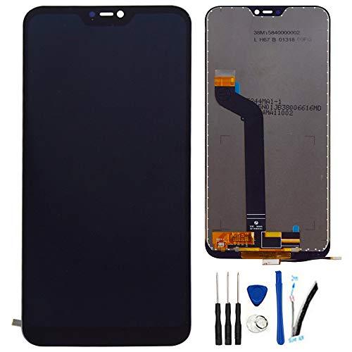 """SOMEFUN Pantalla Táctil LCD de Digitalización Asamblea Pantalla de Recambio para Xiaomi Redmi 6 Pro / Redmi6 Pro/Xiaomi Mi A2 Lite / M1805D1SE 5.84"""" (Negro)"""