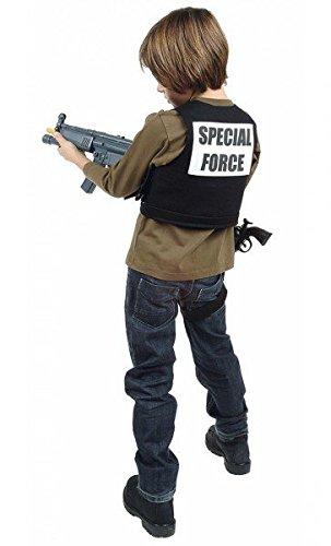 (Spezialeinheit Special Force Commando Kostüm, Größe:152)