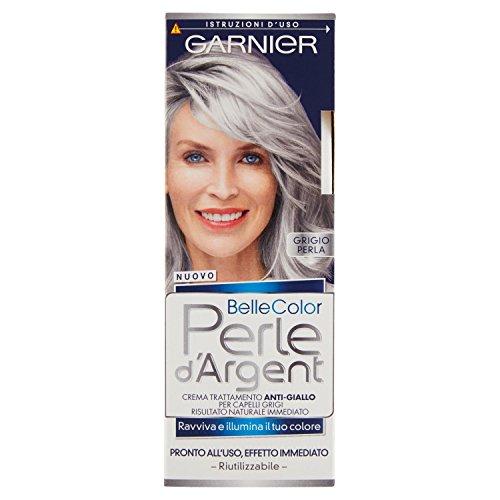 Garnier Belle Color Perle d'Argent Crema Trattamento Anti-Giallo, Grigio Perla