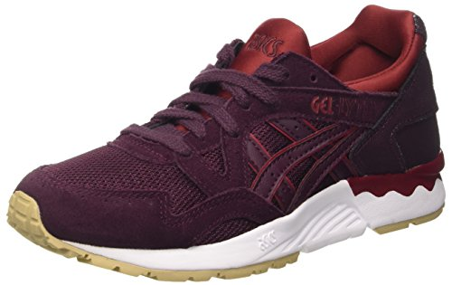 Asics Gel Lyte V, Sneakers Basses Mixte Adulte, Rouge (Rioja Red/Rioja Red), 44.5 EU