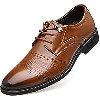 Scarpe Oxford in Pelle Scarpe Eleganti Scarpe da Sposa Scarpe Stringate da  Uomo a44334b058f
