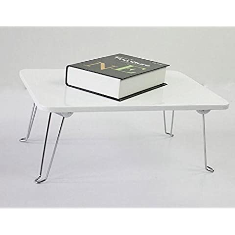 BBSLT Moda pieghevole portatile scrivania, comodino di pigrone, dormitorio semplice scrivania 45 * 30 * 19 cm , b