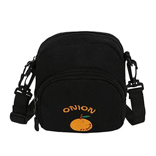 Mitlfuny handbemalte Ledertasche, Schultertasche, Geschenk, Handgefertigte Tasche,Sommer Womens Crossbody Square Pack Ananas Obst Print sollte Messenger Bag