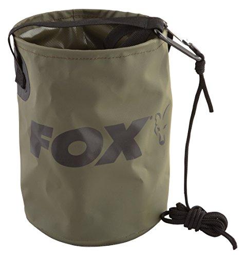 Fox Collapsible Water Bucket Falteimer, faltbarer Eimer, Angeleimer, Wasserbehälter (Eimer Angeln)