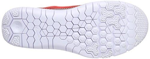 Nike Free Trainer 3.0 V4 Herren Hallenschuhe Mehrfarbig (Black/White-Bright Crimson 016)