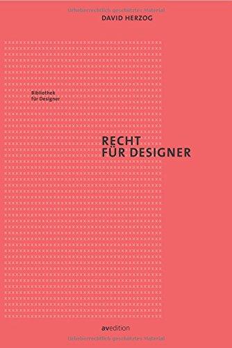 Recht für Designer (Bibliothek für Designer) Buch-Cover