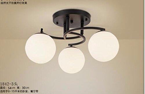 Yxhflo spia americana village indoor lampade da soffitto soggiorno