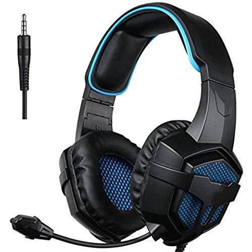 OPmeA Kopfhörer Geräuschisolation Bass Surround Sound mit Mikrofon Geräuschreduzierung Kopfhörer (Razor Surround-sound)