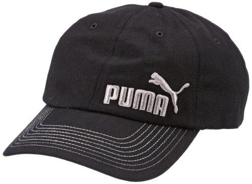 PUMA Kappe Heritage III, black-white, One size, 843377 01