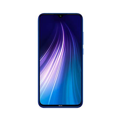 Xiaomi Redmi Note 8 - Smartphone 64GB, 4GB RAM, Dual Sim, Neptune Blue
