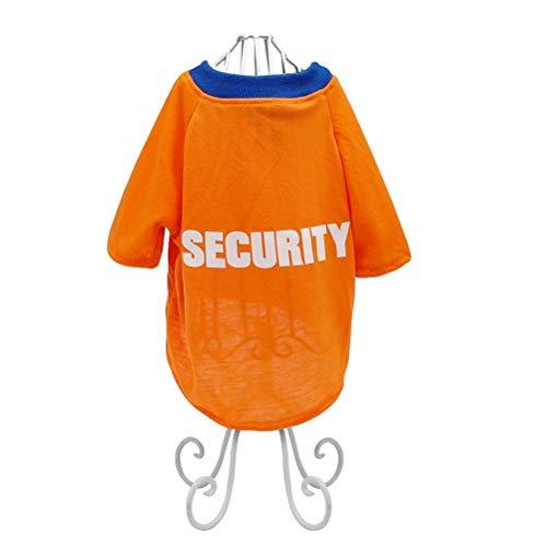 Pet Tank Puppy Apparel Flexibel Atmungsaktiv Mit Sicherheitsbrief Gedruckt Weste Puppy Cat T-Shirt Poloshirt Kleidung Kostüm