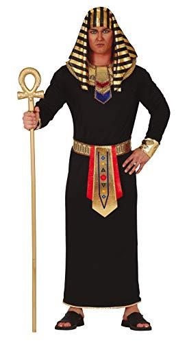 Traje en jersey de poliéster, compuesto por túnica, cuello, cinturón y tocado. Cetro y maquillaje disponibles por separado. Talla M: ancho de hombros 48 cm; pecho alrededor de 120 cm; longitud de unos 140 cm.
