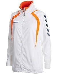 Hummel Zip Jacke Team Player Micro - Chubasquero para mujer, color blanco, talla XS