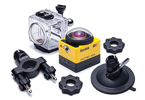 Kodak SP360 Extreme PixPro Action Cam inkl. Extreme Kit gelb