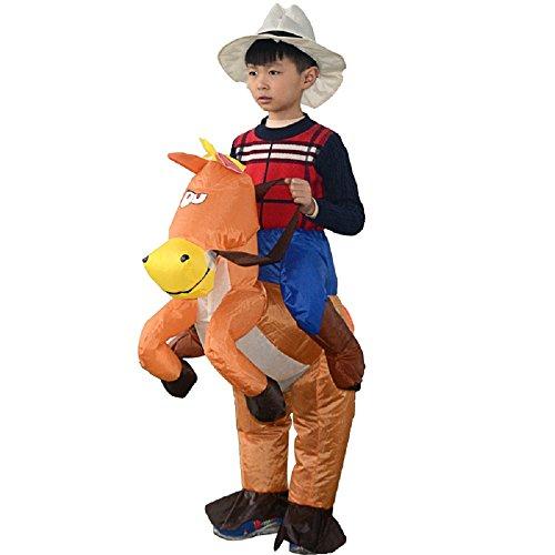 YOWESHOP Kinder Pferd und Cowboy Fancy Kostüm Kleid Anzug