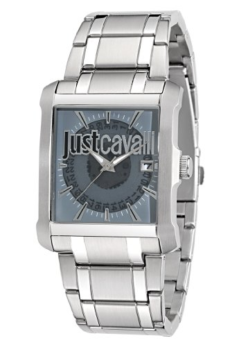 Just Cavalli Men's Quartz Watch R7253119002 with Metal Strap