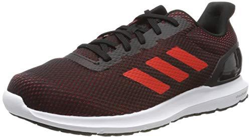 adidas Cosmic 2, Scarpe da Running Uomo, Nero Active Red/Core Black, 42 2/3 EU