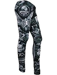 e52f0c22794db1 Suchergebnis auf Amazon.de für: totenkopf - Leggings / Damen: Bekleidung