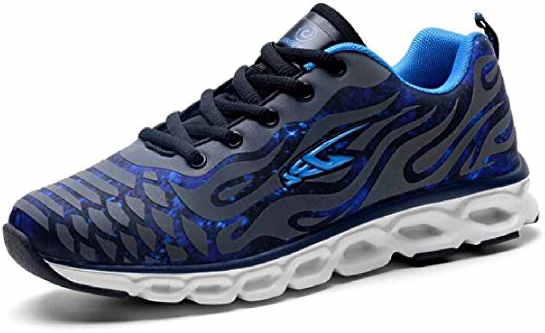 Hombres Corriendo Zapatos Luminoso Descoloramiento Moda Amortiguación Zapatillas Ligero Entrenadores Respirable...