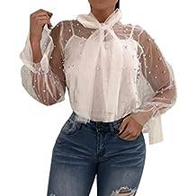 Emmala Dos Piezas Mujer Y Shirts Chalecos Primavera Verano Camicia O Cuello Strappy Tops Transparentes Rosario