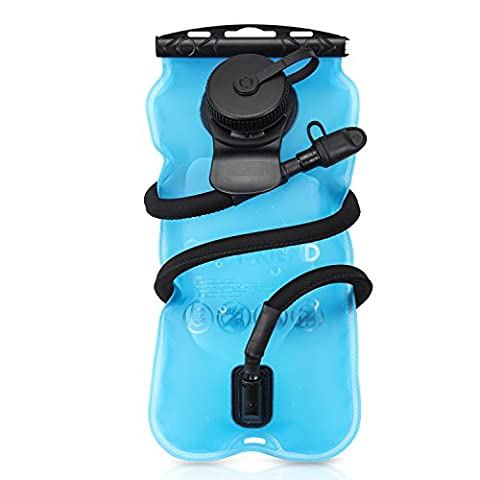 GoFriend® 3 Litre 3L(100oz) Outdoor Hydration Bladder Water Reservoir Pack Backpack System Water Bag, BPA-FREE & FDA Approved, Great for Cycling, Hiking, Running, Camping,