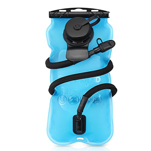 GoFriend® 3 Litres 3L(100oz) Outdoor Hydration Bladder Water Reservoir Pack Backpack System Water Bag, BPA-FREE & FDA Approved, Great for Cycling, Hiking, Running, Camping, Walking Test