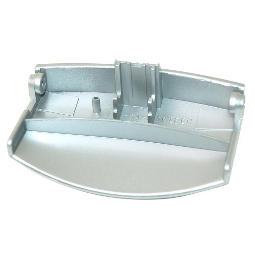 AEG Waschmaschine Silber Türgriff