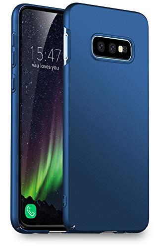 vau Hülle passend für Samsung Galaxy S10e - Slim Shell Case Handyhülle Schutzcase dünn blau (kompatibel zu Galaxy S10 e Lite) Samsung Blau Case