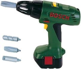 Theo Klein 8402 - Bosch Akku-Bohrmaschine Schraubendreher, Spielzeug