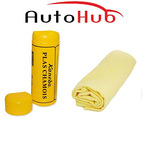 auto hub chamois cleaning cloth for vehicles/home/office - small Auto Hub Chamois Cleaning Cloth For Vehicles/Home/Office – Small 41XRyeJvENL