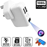 Spy Cameras 1080P HD Mini Camera Covert Hidden Security Surveillance Camera with Motion Detection and Loop Recording,