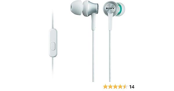 Sony Mdr Ex450ap Mobile Headsets Verkabelt Im Ohr Binaural Im Ohr 5 25000 Hz Weiß Baumarkt