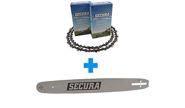 1 Cha/îne adaptable pour Echo CS-3000-30cm 3//8LP 45TG 1,3mm