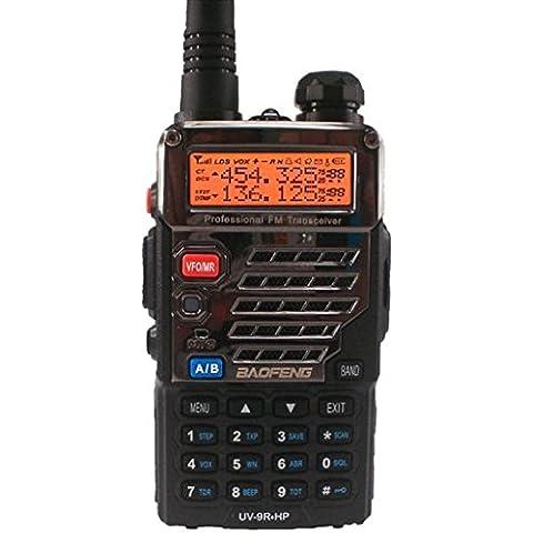 BAOFENG BF-UV9RHP 8 WATT versione export 136-174 400-520 MHz programmazione PMR e LPD