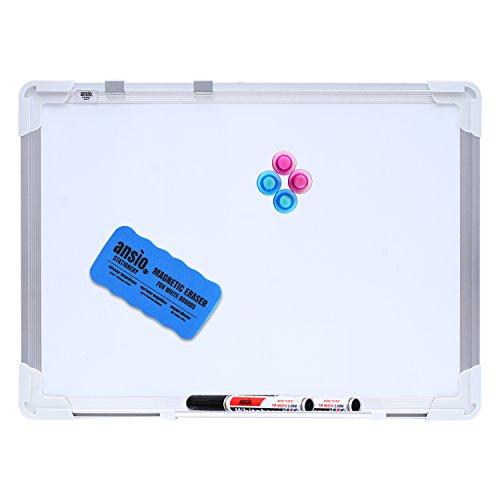 ANSIO - Kit de Pizarra Blanca Magnética, 42x 30cm, A3