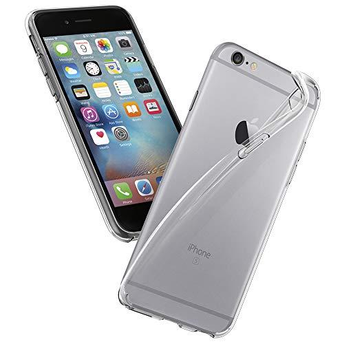 Galleria fotografica Cover iPhone 6/6S, Spigen Silicone Custodia [Liquid Crystal] Slim Protezione e Premium Chiarezza per iPhone 6/6S - Trasparénte